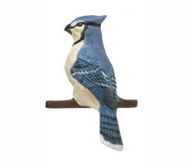 Blue Jay, Hand Painted Aluminum