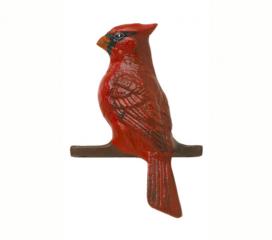 Cardinal, Hand Painted Aluminum