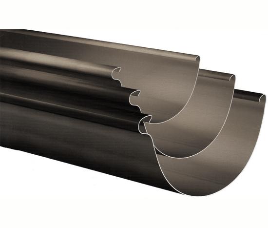 8 X 032 Half Round Aluminum Gutter