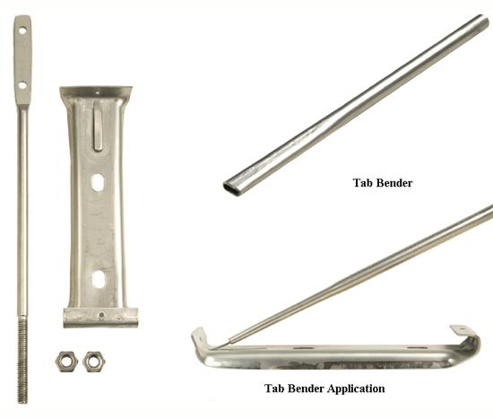 Tab Bender For Stainless Steel Hanger Unit Bracket