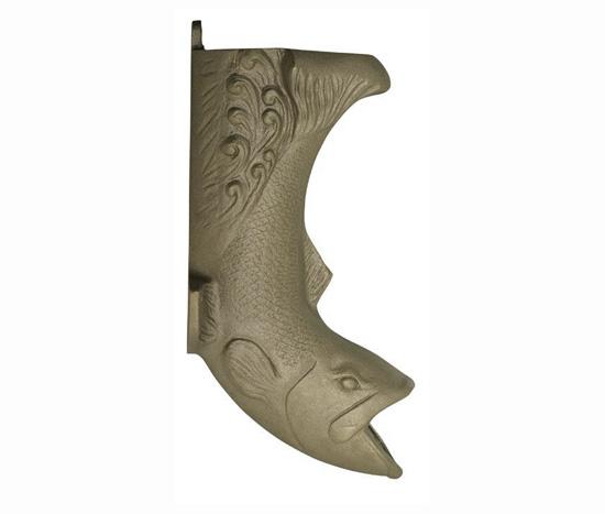fish downspout boots aluminum - Decorative Downspouts