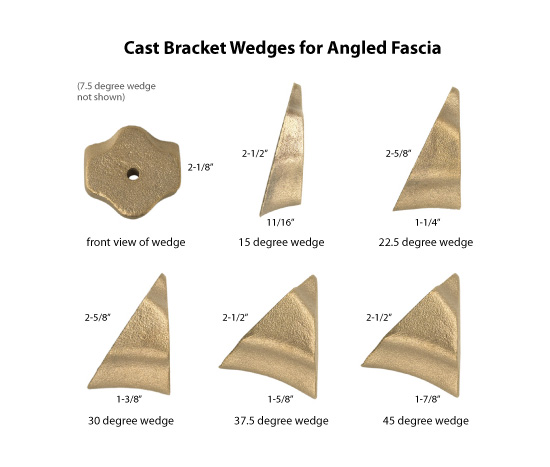Wedges For Angled Fascia