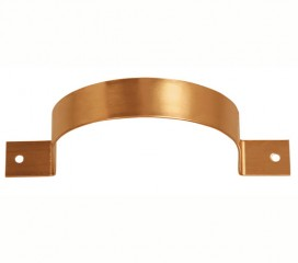 Copper Flush Mount Downspout Bracket