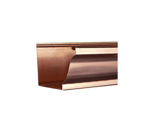 K Style Copper Gutter 5 Amp 6 16 Amp 20 Oz