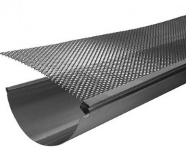 Aluminum Gutter Screen, 3' Lengths