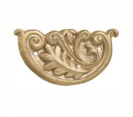 Brass Decorative End Cap Insert