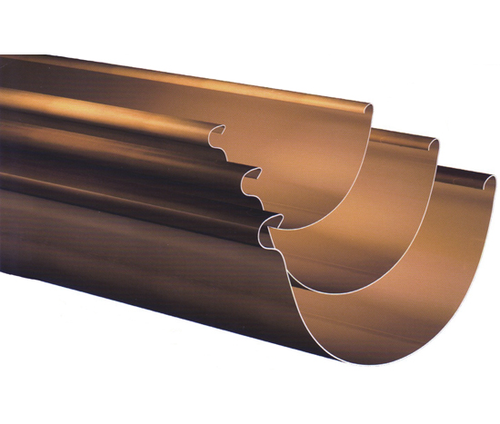 8 Half Round Copper Gutter Classic Gutter Systems