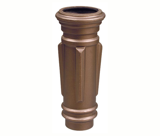 Brass Classic Downspout Boots Classic Gutter Systems