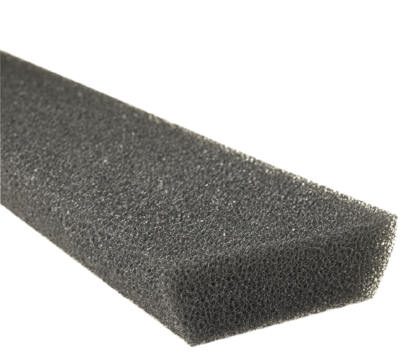 Leaf Defier Foam Gutter Protection For 6 Inch Half Round