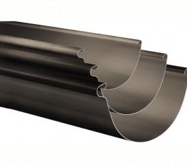 8″ x .032 Half Round Aluminum Gutter