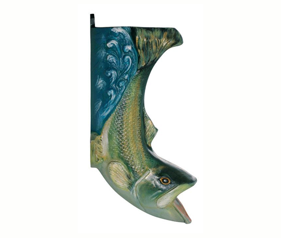 Fish Downspouts Boot Hand Painted Classic Gutter Systems