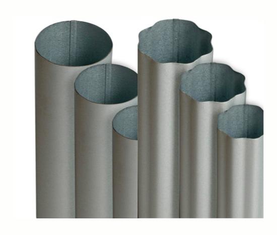 5 X 24 Gauge Galvalume Smooth Round Amp Corrugated