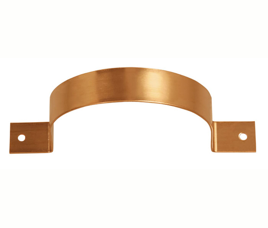 Copper Flush Mount Downspout Bracket Classic Gutter Systems