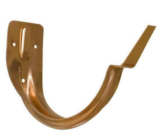 5 6 Amp 8 Stamped Half Round Fascia Brackets Copper